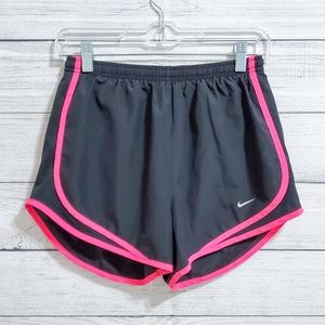 NWOT Nike Tempo Dri-Fit Shorts (Pink and Black)